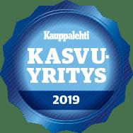 Kauppalehti kasvuyritys 2019 logo